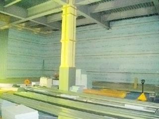 平成28年 まるや冷蔵㈱海南新冷蔵倉庫防熱工事中